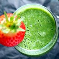 Green Monster Smoothie // Ambitious Kitchen