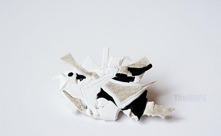 * Fantasy * 100% handmade & original Brooch. Zapraszam do oglądania, komentowania i...zamawiania: themqps.blogspot.com