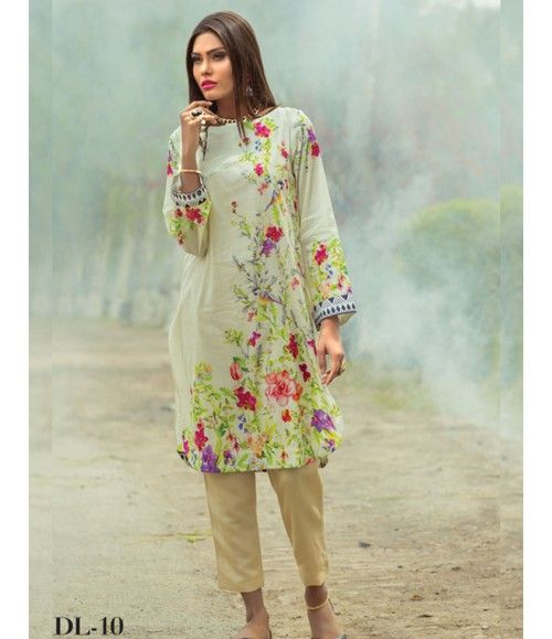 Digital Lawn- Summer Fantacy Kurti Collection By Alkaram DL_10