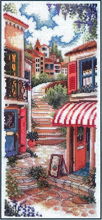 Cross stitch pattern, Toscana Estiva 1