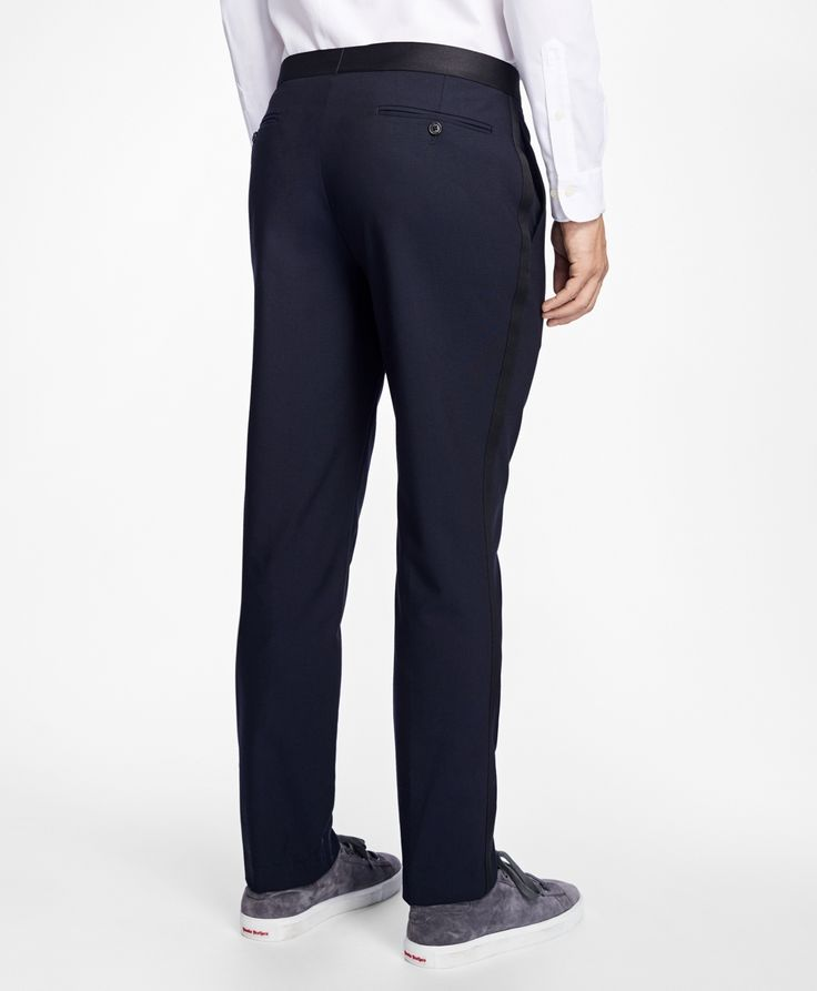 Slim-Fit Stretch-Wool Tuxedo - Brooks Brothers