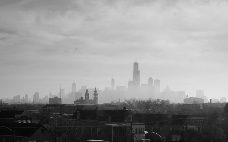 Hazy Chicago By On Deviantart Atmospheric Pinterest Chicago