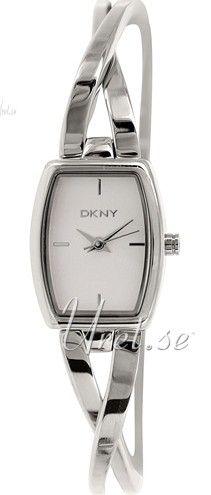 DKNY Dress Hvit/Stål