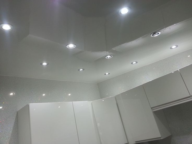 Plain White Gloss Pvc Ceiling Panel Adds A Modern Look To Your Kitchen And Is Easy To Install