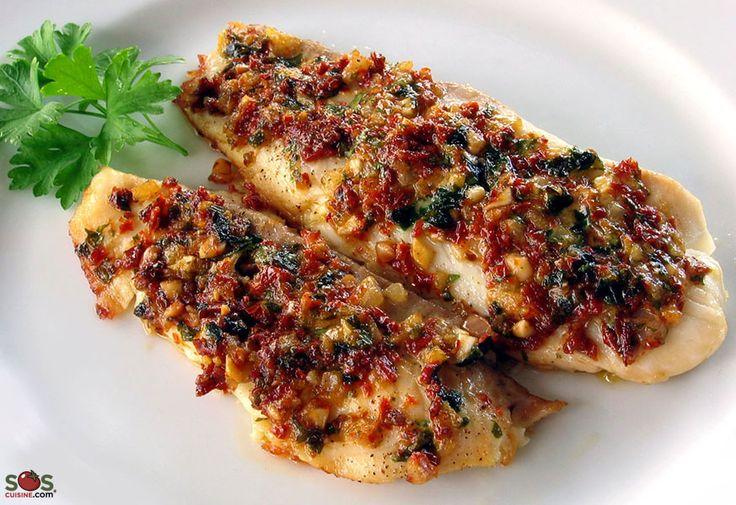 Recette - Filets de poisson à la provençale