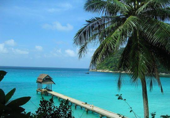 Perhentian Islands off the coast of northeastern Malaysia near the Thai border