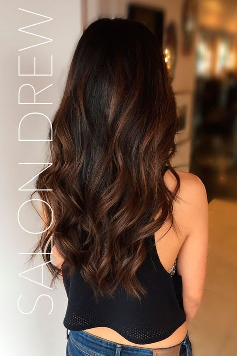 Best 25 highlights black hair ideas on pinterest balayage hair 33 hottest brown ombre hair ideas natural highlightsblack pmusecretfo Image collections
