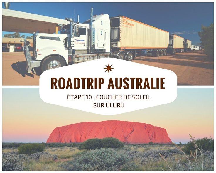 S'il y a bien un endroit qui symbolise le centre de l'Australie, c'est Ayers Rock ! Tout le monde à en tête ce bloc rouge sortie de nulle part au milieu du désert australien. Arriverons-nous assez tôt pour voir le coucher de soleil ?