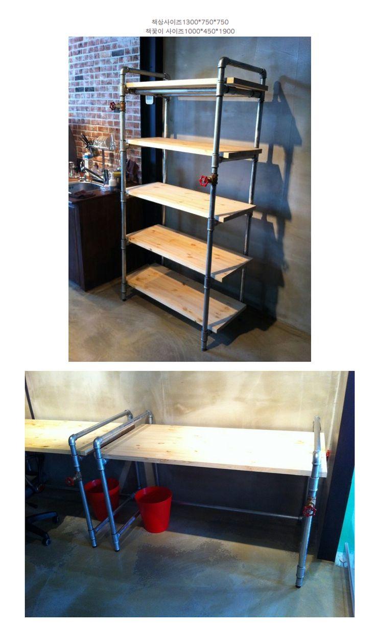 Pipe Desk Diy Pinterest Pipe Desk Pipes And Desks