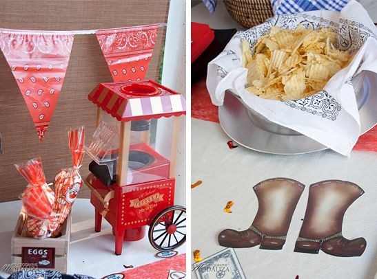 decoration far west birthday / by Baby pop's party and pics by Modaliza