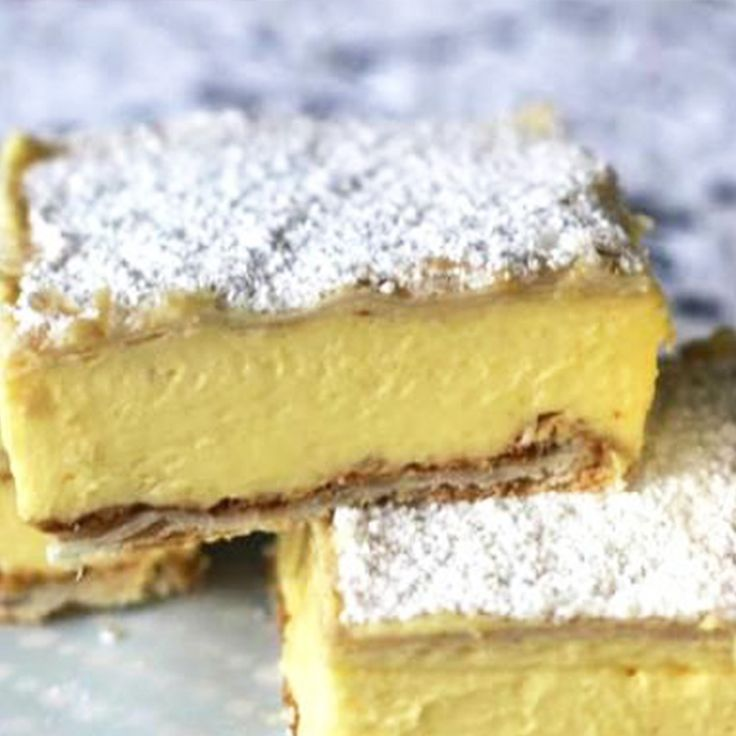 Nothing says 'I love you' like this creamy and dreamy Custard Vanilla Slice. #ValentinesDay