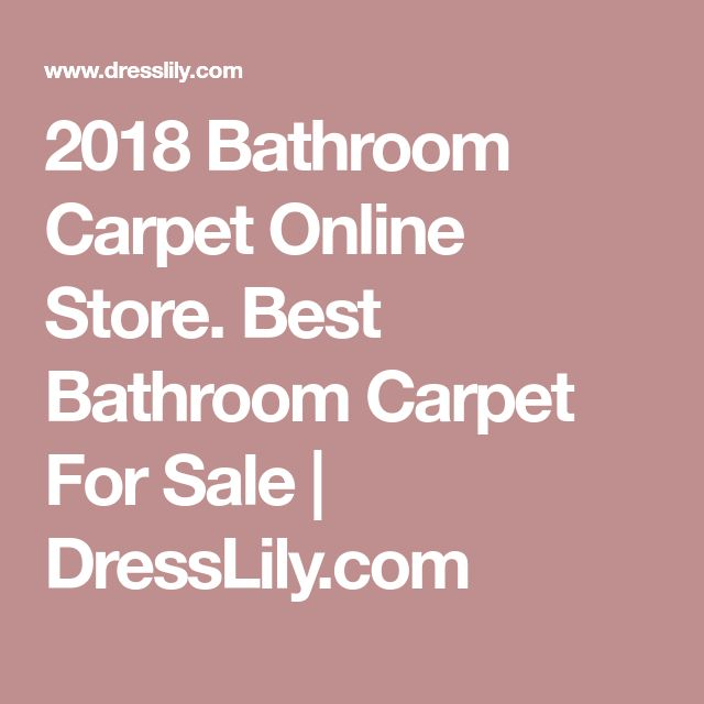 2018 Bathroom Carpet Online Store. Best Bathroom Carpet For Sale | DressLily.com