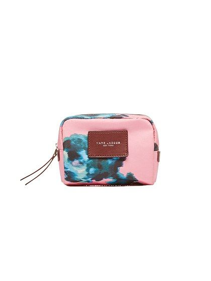 For Makeup on the Go: 10 Cosmetic Cases to Covet: Marc Jacobs B.y.o.t. BRoCade Floral Small Cosmetics Case | Allure.com