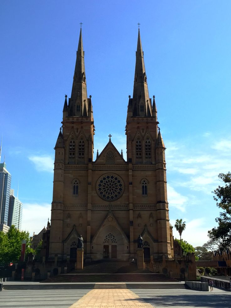 St. Mary's Cathedral, Sydney.