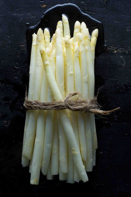 White Asparagus - had this as often as possible when we lived in Germany (they call it spargel). Much as I love asparagus, this is even more delicious!! /dmp