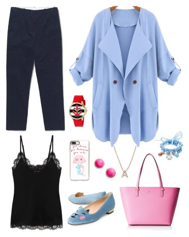 """""""Alice in Disputeland"""" by chocofit on Polyvore featuring Alexander McQueen, Charlotte Olympia, Kate Spade, Casetify, Juicy Couture, Bony Levy and Accessory PLAYS"""