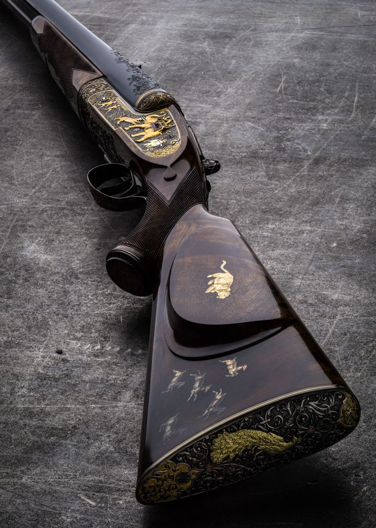 The Westley Richards India Rifle