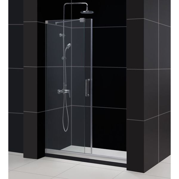 DreamLine Mirage 44-48x72-inch Frameless Sliding Shower Door - Overstock™ Shopping - Big Discounts on DreamLine Shower Doors