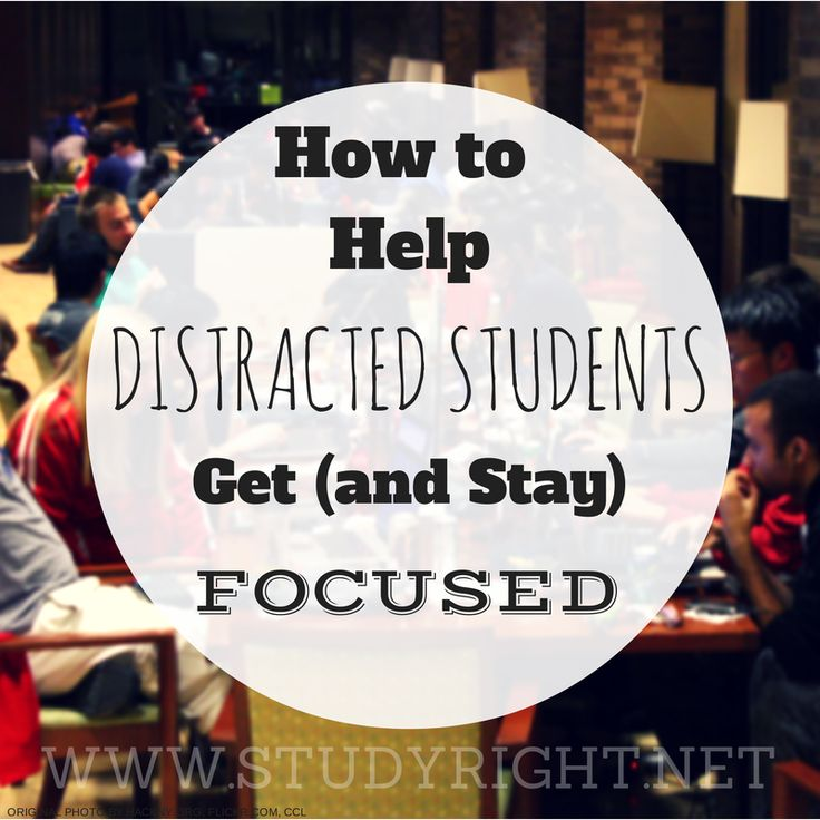 Free Opportunity For Parents To Learn How To Best Help Distracted Students  Get And Stay Focused