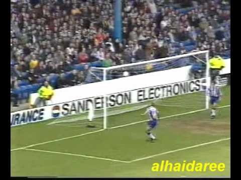 A 1995 7-1 win over Sheffield Wednesday at Hillsborough