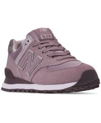 Women 574 Balance Casual Pebbled From In Line Finish New Sneakers EDIH2W9