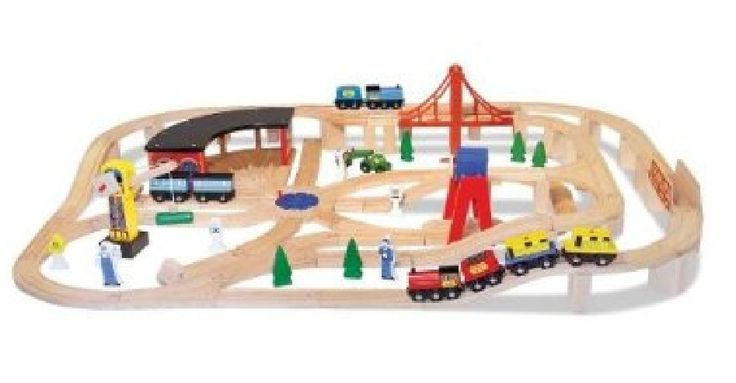 Kids Toy Train Track Building