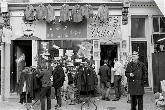 Carnaby Street 1960.