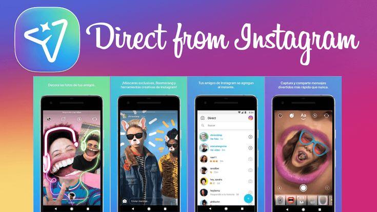 Conoce como conseguir y usar la nueva app Direct from Instagram ✅ que te permite usar la sección mensajes directos en una app independiente. La app es totalmente oficial. #Android #iOS #Instagram #Direct downloadsource.es