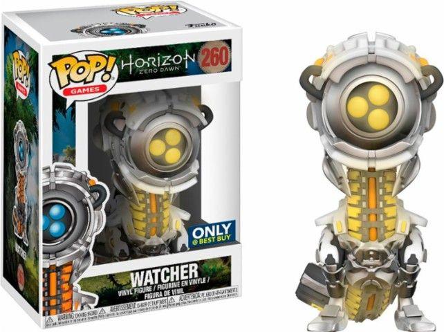 Funko - Pop! Games: Horizon Zero Dawn - Yellow Glow Watcher - Front Zoom