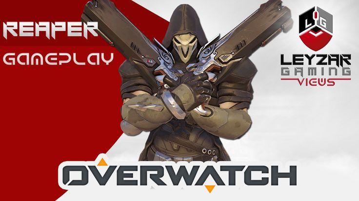Overwatch Gameplay - Reaper on Lijiang Tower (High Octane Control Mode G...