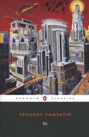 """Title:We  Author: Yevgeny Zamyatin  """"A page-turning SF adventure, a masterpiece of wit and black humor that accurately predicted the horrors of Stalinism, We is the classic dystopian novel. Its message of hope and warning is as timely at the end of the twentieth century as it was at the beginning."""" from goodreads http://www.goodreads.com/book/show/76171.We"""