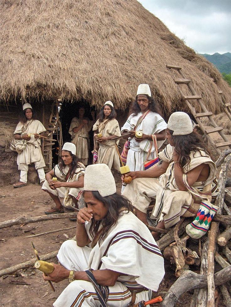 Meeting of the Arhuacos.