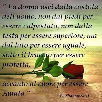 La donna dell'Eden di William Shakespeare