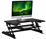Mount-It! Sit Stand Workstation Standing Desk Converter, Ergonomic Height Adjustable Tabletop Desk, Black... Monitor and Desk Mount specialist Mount-It! will change the way you work! This https://thehomeofficesupplies.com/mount-it-sit-stand-workstation-standing-desk-converter-ergonomic-height-adjustable-tabletop-desk-black-mi-7926/
