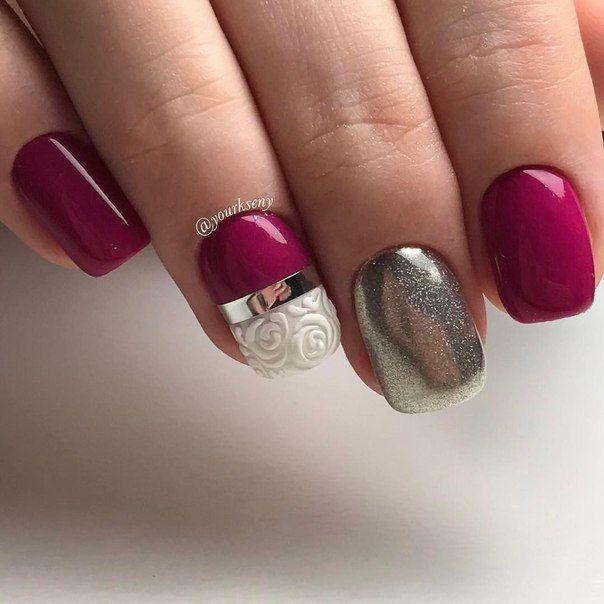 Nail Polish Ka Design Dikhaye: 25+ Best Ideas About Magenta Nails On Pinterest