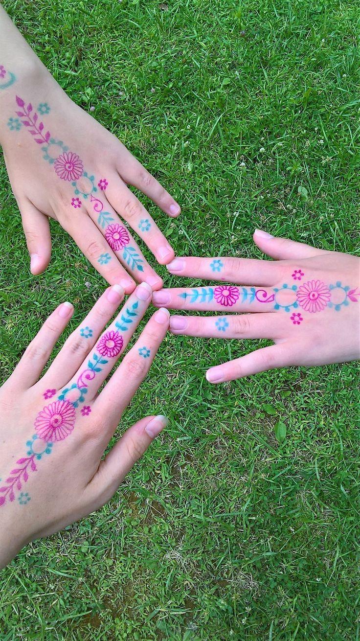 Fake henna :P
