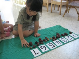 Montessori On A Budget: DIY - 'Cards & Counters'