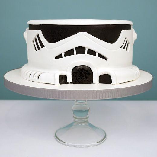 Stormtrooper cake!