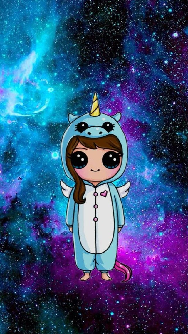 Wallpaper Tumblr Unicorn Galaxy