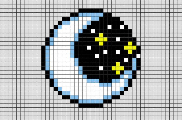 moon pixel art