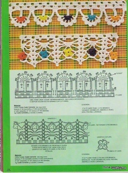 crochet edgings: Menu, Diy Gifts, Handmade Gifts, Crochet Crafts, Edge Crochet, Crochet Patterns, Crochet Edge, Crochet Magazines, Hands Made Gifts