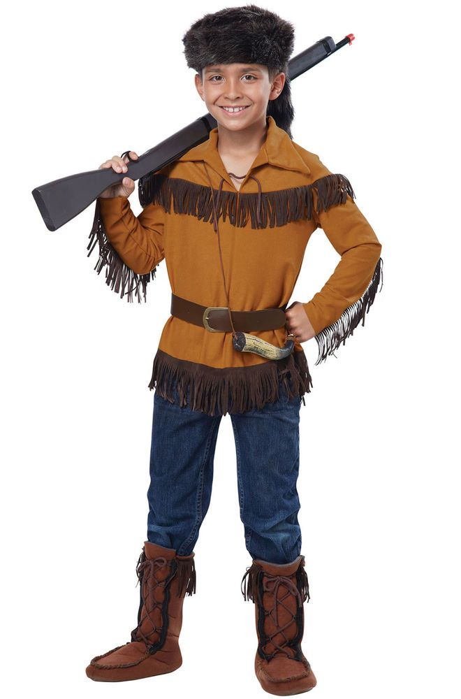 Frontier Boy/Davy Crockett Pioneer Outfit Child Costume #CaliforniaCostumeCollections #CompleteCostume