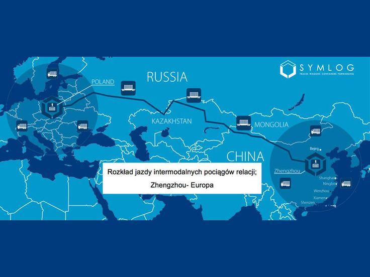 Kolejowy przewóz kontenerowy towarów na trasie Chiny – Polska oraz Polska – Chiny. Sprawdź rozkład
