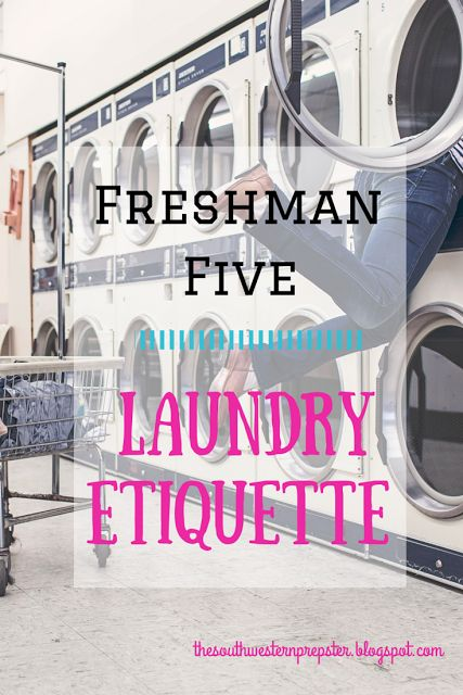 A lot of people don't realize it, but doing laundry in college is different than being at home!