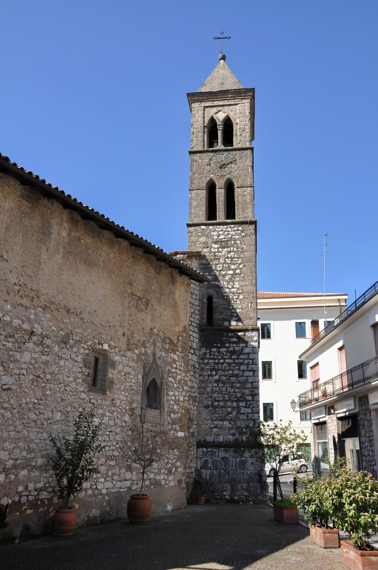 Ancient Bell Tower of San Nicola, Ceccano (FR)