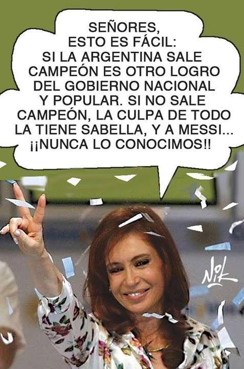 ... Cristina Kirchner