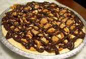 vegan peanut butter pie- I essentially have this stocked in my fridge at all times :P