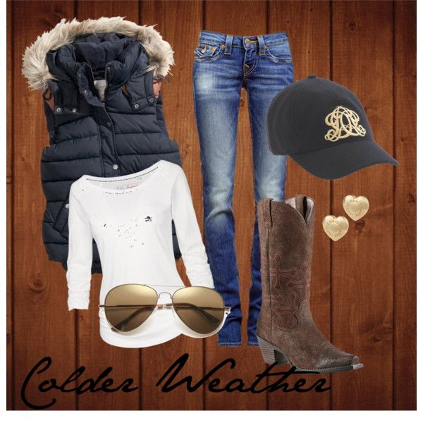 """""""Colder Weather"""" Country winter True Religion outfit"""