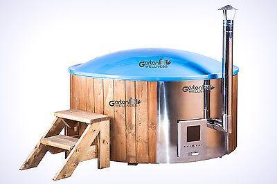 Hot Tub Pot Badetonne Badefass Badezuber Badebottich mit GFK-Einsatz Whirlpool in Heimwerker, Sauna & Schwimmbecken, Außenwhirlpools   eBay