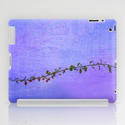 Las hojas que te recorren iPad Case by Oscar Tello Muñoz - $60.00